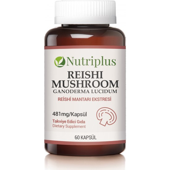 Farmasi 9700546 Nutriplus Reishi Mantarı Ekstresi 60 Kapsül