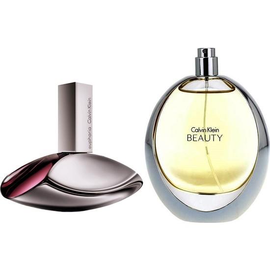 Calvin Klein Euphoria EDP 100 ml Kadın Parfümü + Calvin Klein Beauty Edp 100 ml Kadın Parfümü