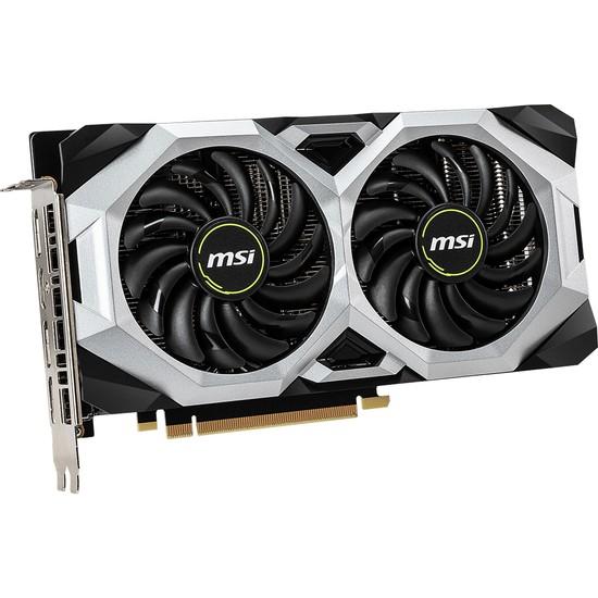 MSI NVIDIA GeForce RTX2060 Ventus 6GB OC 192Bit GDDR6 (DX12) PCI-E 3.0 Ekran Kartı (GeForce RTX 2060 VENTUS 6G OC)