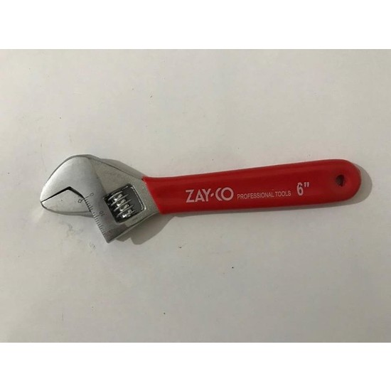 Zayco Kurbacık İngiliz Anahtarı 6''