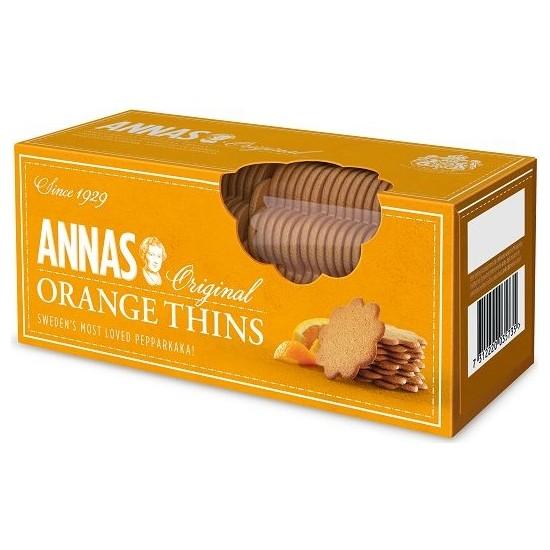 Lotus Annas Orange Thins Kurabiye 150 gr