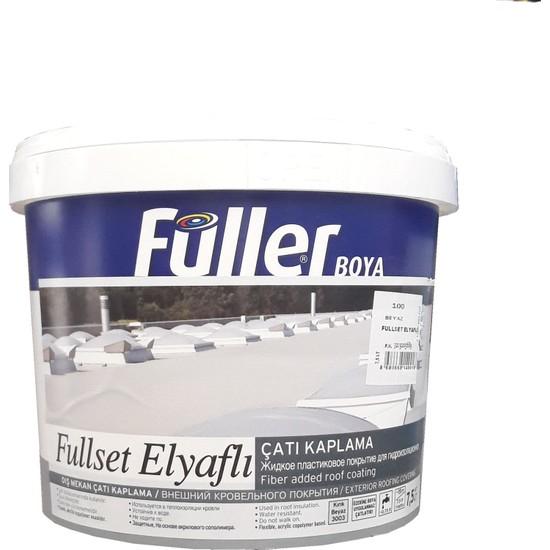 Füller Fullset Elyaflı Çatı Kaplama 7,5 Litre Beyaz
