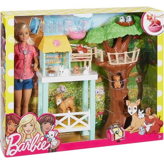 Barbie 8 Hayvanlı Tedavi Merkezi