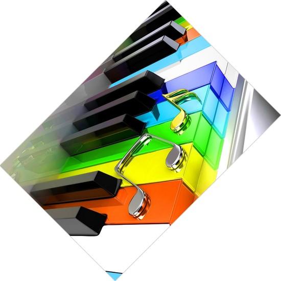 Cici Tasarım Renkli Piyano Tuşları Kız Çocuk Tasarımsı-150x150