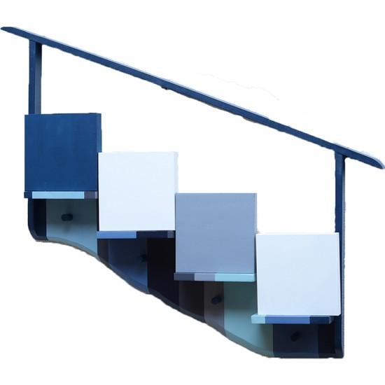 Decorize Dekoratif Ahşap Askılık-Raf Tasarım El Yapımı 10