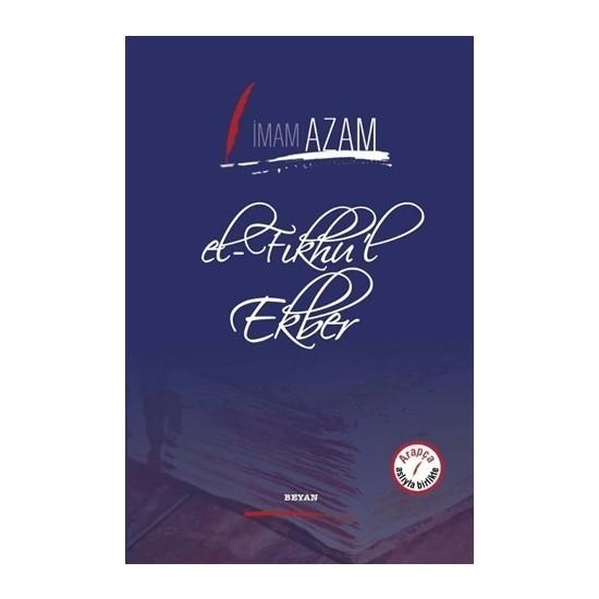 El-Fıkhu'L Ekber - İmam-ı Azam