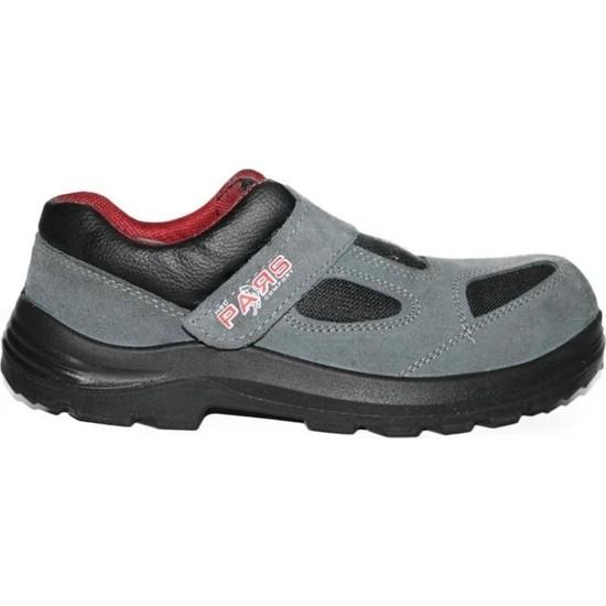 Pars 114 S1 Çelik Burunlu Süet Yazlık İş Ayakkabısı