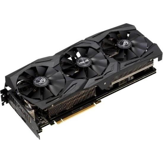 Asus ROG Strix GeForce RTX 2060 Gaming 6GB OC 192Bit GDDR6 (DX12) PCI-E 3.0 Ekran Kartı (ROG-STRIX-RTX2060-O6G-GAMING)