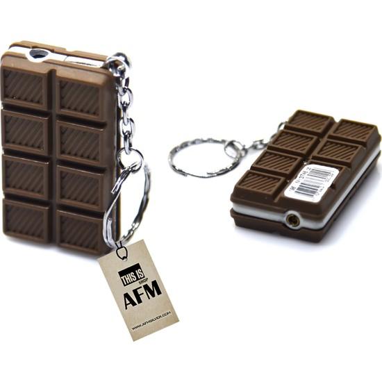 Afm Çikolata Anahtarlık & Gazlı Çakmak 5X3Cm