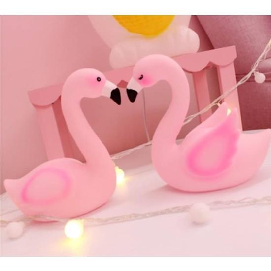 Ömr Dizayn Hediye Flamingo Tasarımlı Gece Lambası