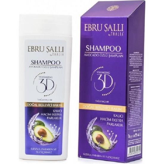 Ebru Sallı By Thalia Avokado Yağlı Bakım Şampuanı 300 ml