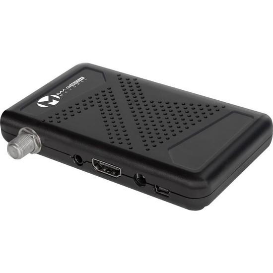 Magbox Natural Full Hd Çift Usb'Li Mini Hd Uydu Alıcısı Tkgs'Li