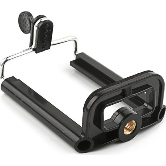 Tripod Bağlantı Girişli Telefon Tutucu