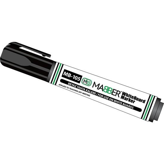 Mabber Beyaz Tahta Kalemi Siyah