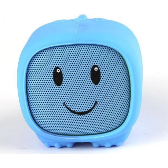 Dino Mavi Bluetooth Hoparlör - Mutlu