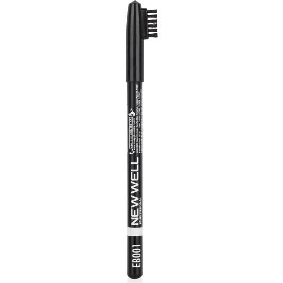 New Well Kaş Kalemi Siyah 001