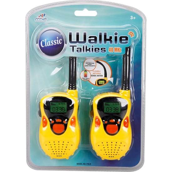 Eccho Walkie Talkies Klasik Telsiz