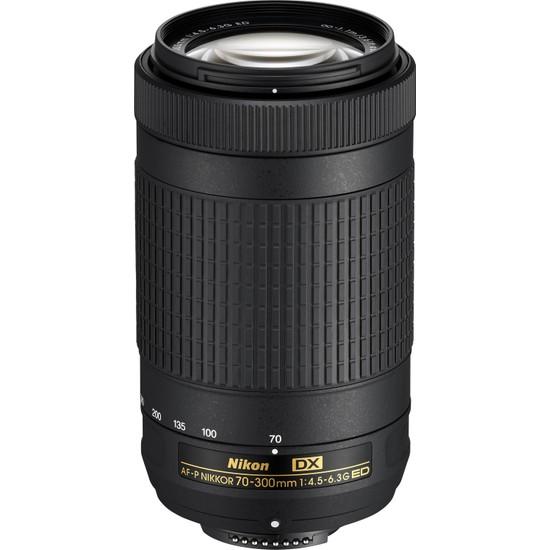 Nikon AF-P DX Nikkor 70-300mm Lens (Distribütör Garantili)