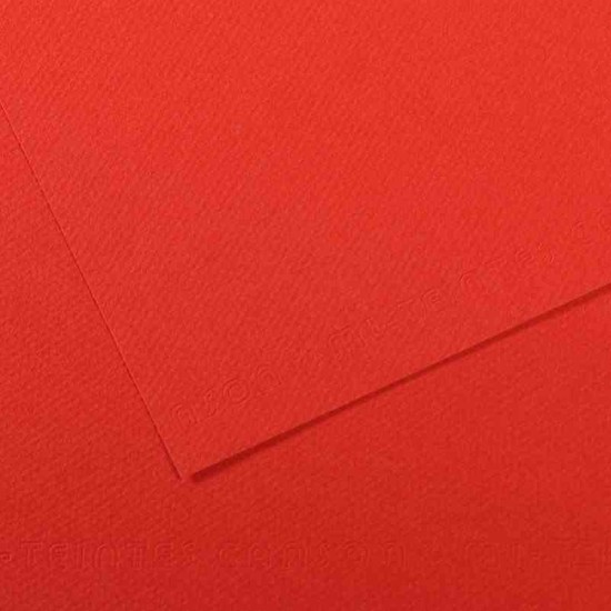 Canson Fon K. 50X65 160Gr Grenli Poppy Red 321254