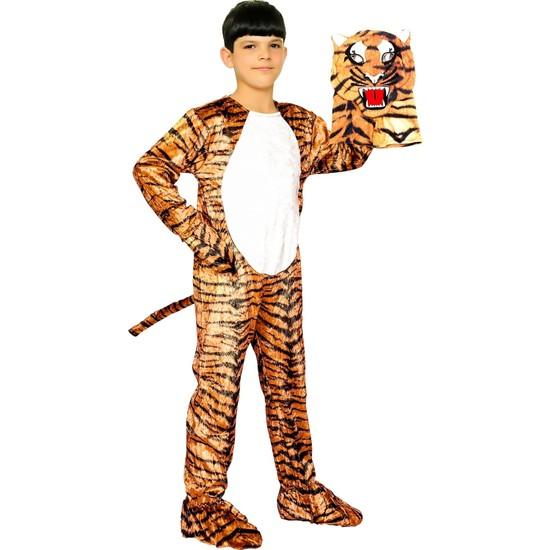 Oulabimir Kaplan Kostümü Çocuk Kıyafeti