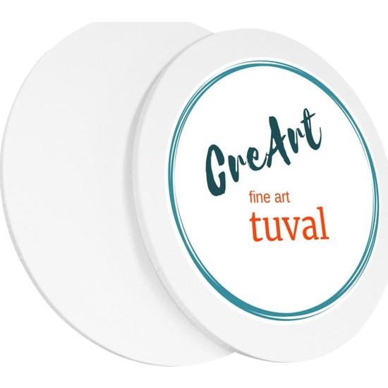 Creart 50 cm Daire Resim Tuvali