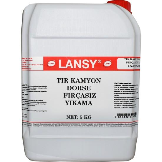 Lansy Tır Kamyon Dorse Fırçasız Yıkama 5 Kg 1/60 Konsantre