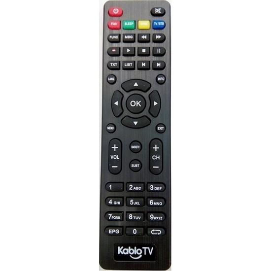 Tayfun Neta 8970Hd 8980Hd 8900Hd Uyumlu Kablo Tv Kumandası