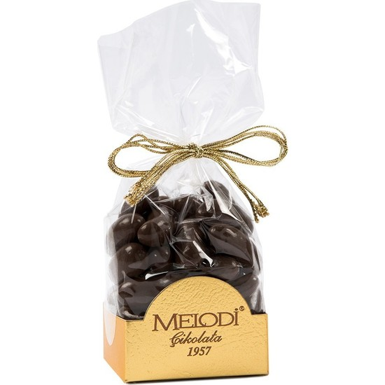 Melodi Çikolata Bitter Çikolatalı Portakal Draje 150gr