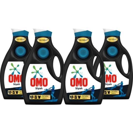 Omo Black Sıvı Çamaşır Deterjanı 4 x 30 Yıkama