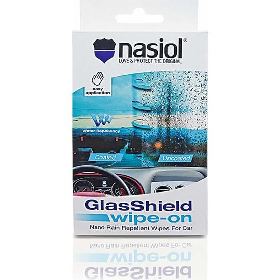 Nasiol Glasshield Wipe On, Nano Yağmur Kaydırıcı
