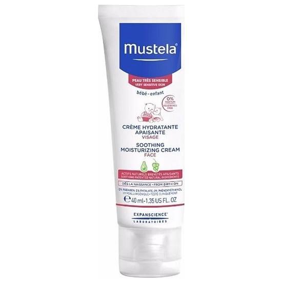 Mustela Soothing Moisturizing Cream Face 40 Ml / Rahatlatıcı Yüz Kremi