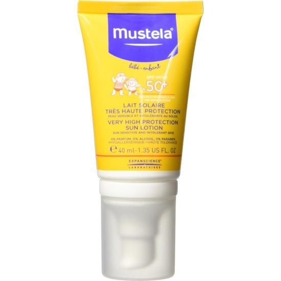 Mustela Protective Face Cream Spf 50+ (40 Ml) / Çok Yüksek Koruma Faktörlü Güneş Losyonu