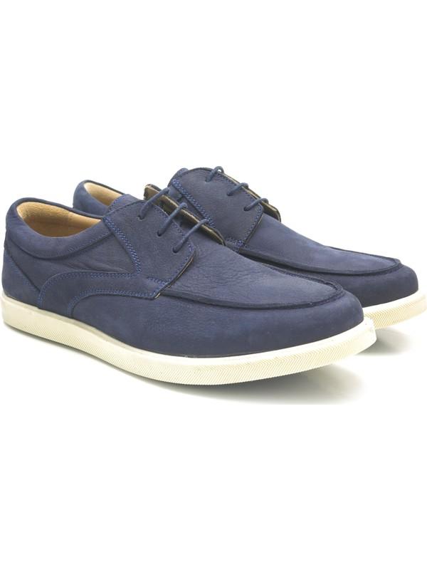 Cordovan 71119 M 1506 Lacivert Erkek Deri Modern Ayakkabı