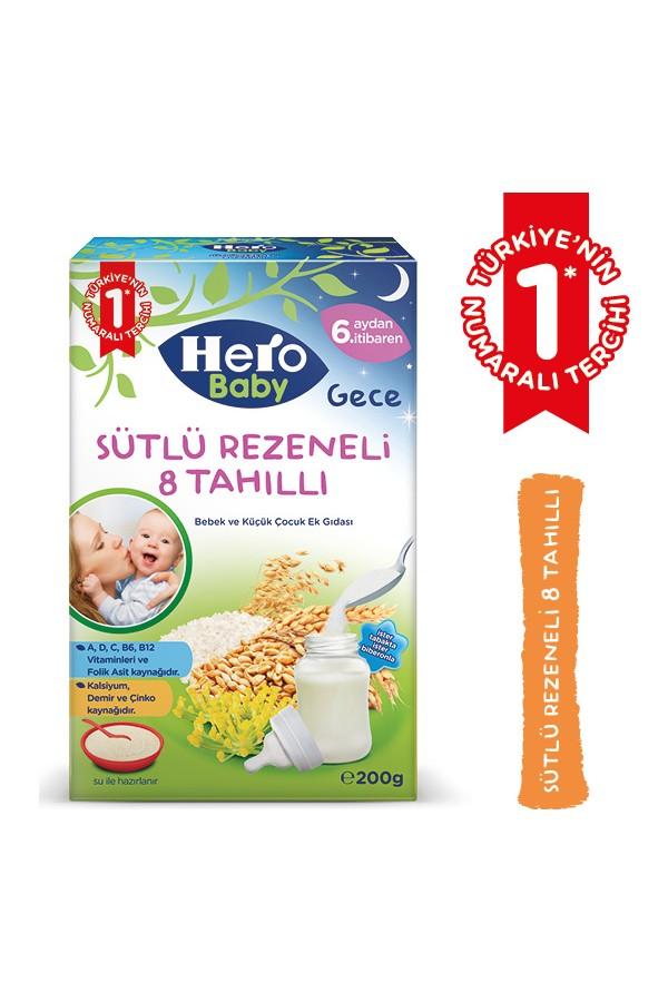 8 Grain Scoop Night Hero Baby Mama Milk fennel 240 gr