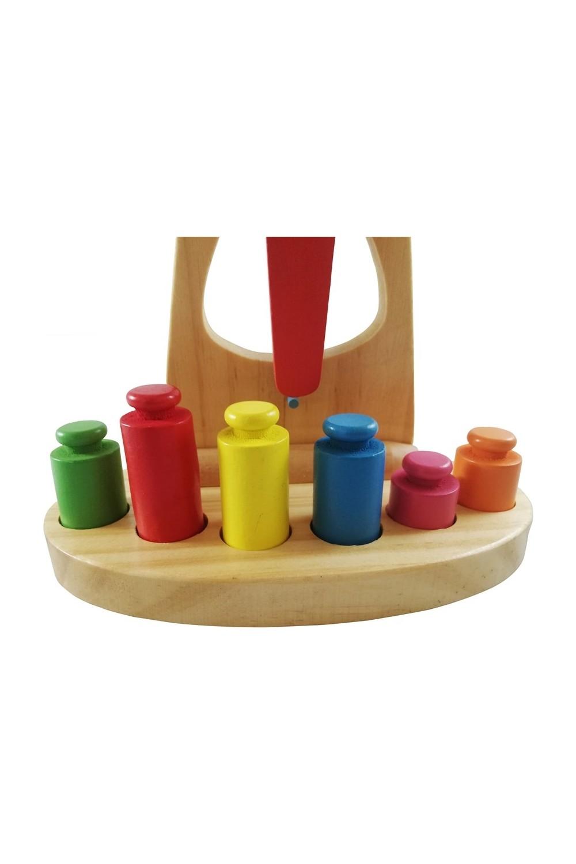 Hobi Egitim Dunyasi Kids Educational Toy-Wooden Scale