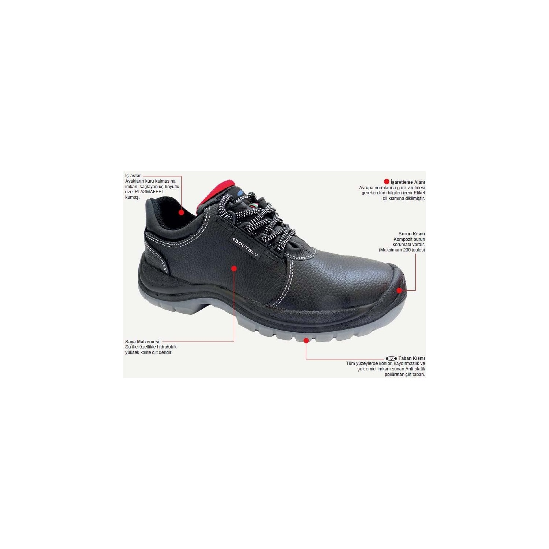 d79a15270e8ef Starline Tiberius Koruyucu İş Güvenlik Ayakkabısı Fiyatı