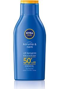 Nivea Sun Protection & Moisturizing Lotion Gkf 50+