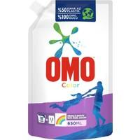 Omo Color Renkliler için Sıvı Deterjan Çevre Dostu Paket 650 ML
