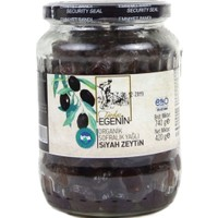 Tardaş Egenin - Organik Sofralık Yağlı Siyah Zeytin 740 gr