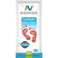 Active Vital 5 Adet 15 Gram Ayak Koku Tozu
