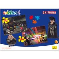 Adeland 2X1 Puzzle 2, 50 Ve 100 Parça