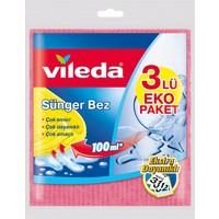 Vileda Sünger Bez 3'lü Paket