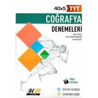 Hız ve Renk Yayınları Tyt Coğrafya 40 X 5 Denemeleri - Alim Kılıç
