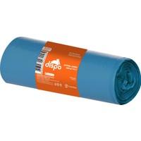 Dispo Optima Jumbo 500 gr. Mavi Çöp Poşeti 80x110 cm-30,5 mikron