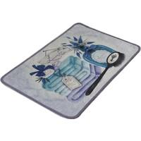 Chilai Home Lavanta Dijital 40X60 Cm Banyo Halısı