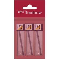 Tombow MONO LEAD Uc 0,5mm 2B Paketli(3ad)