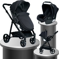 Baby Home BH 965 Challenger Black Travel Sistem Bebek Arabası