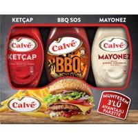 Calve Ketçap 400 gr + Mayonez 350 gr + Barbekü Sos 290 gr