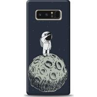 Eiroo Samsung Galaxy Note 8 Astronot Baskılı Tasarım Kılıf