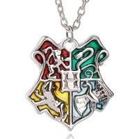 Vipbt Tr32884060090G Harry Potter Hogwarts Okul Rozeti Cosplay Kolye
